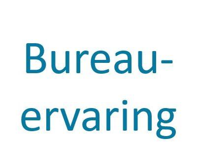 Bureau-ervaring